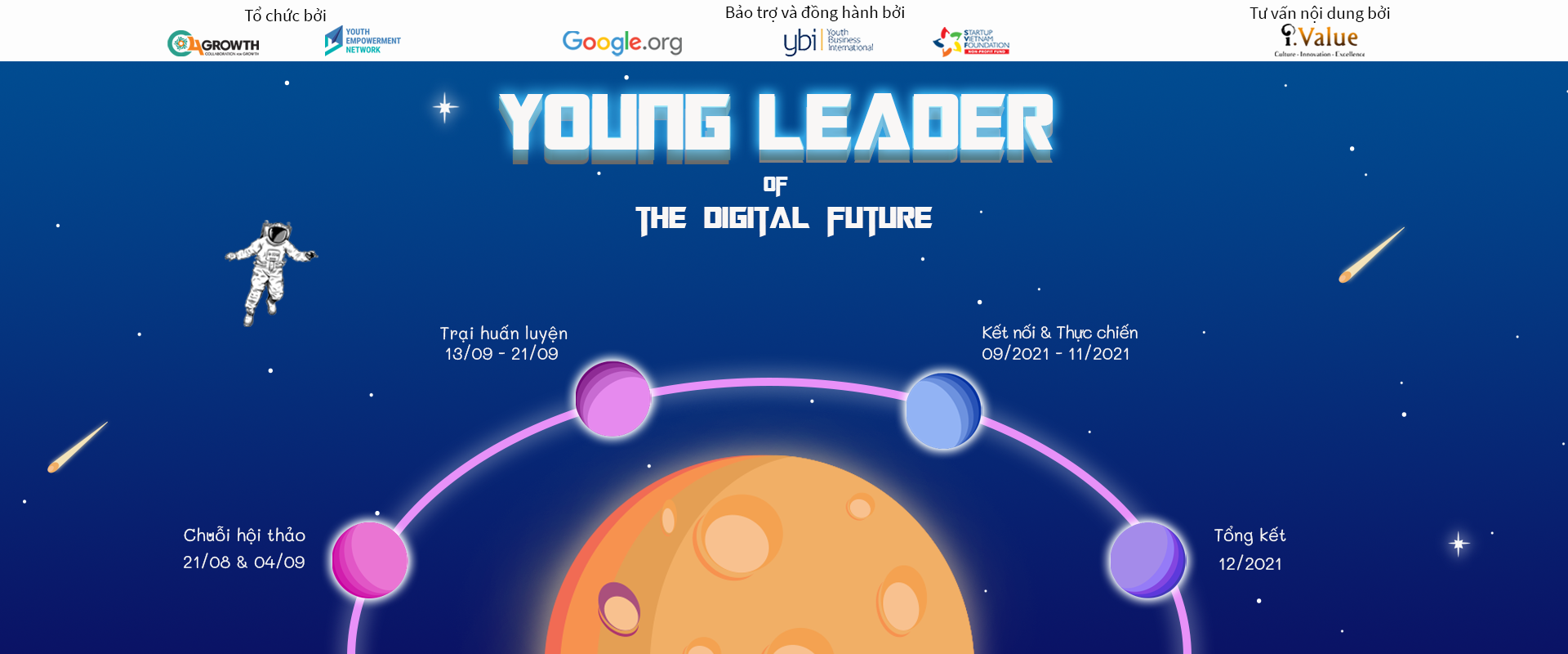 Young leader for the digital future