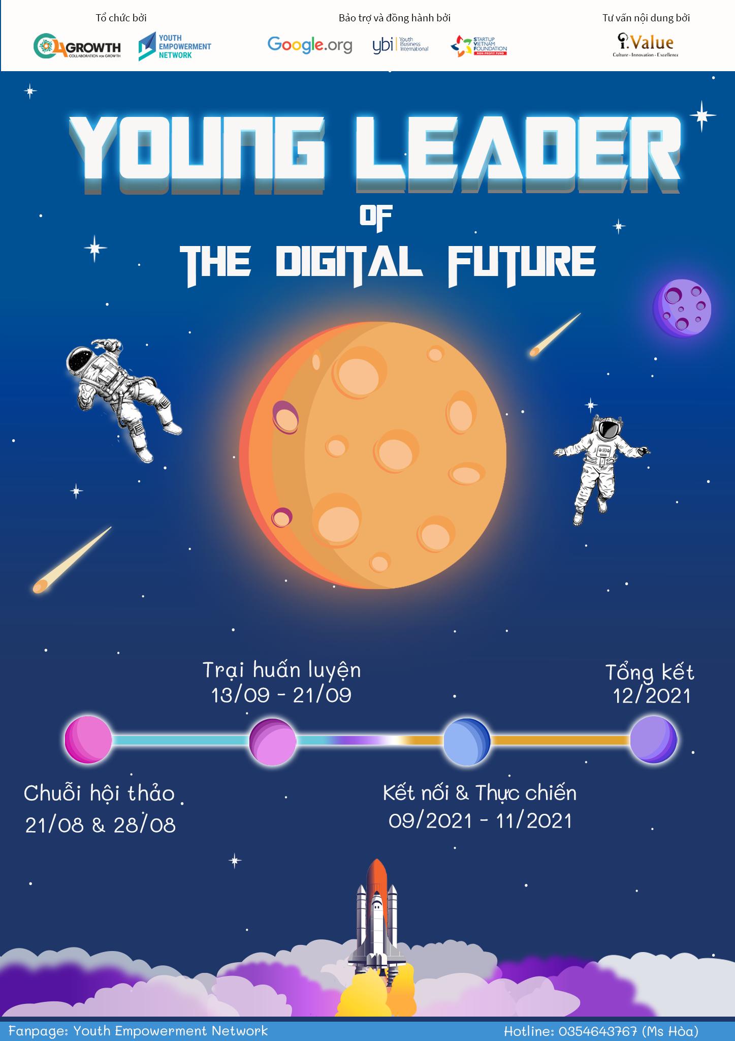 """YOUNG LEADER OF THE DIGITAL FUTURE - CHƯƠNG TRÌNH """"LÃNH ĐẠO TRẺ CỦA TƯƠNG LAI SỐ"""""""