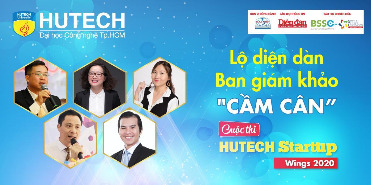 HUTECH Startup Wings 2020 – Dự án nào sẽ giành ngôi vị Quán quân