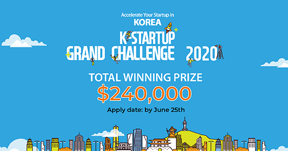 Attention Global Startups: South Korea's K-Startup Grand Challenge 2020 accepting applications till June 25th